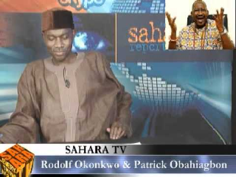 Patrick Obahiagbon On Saharatv video