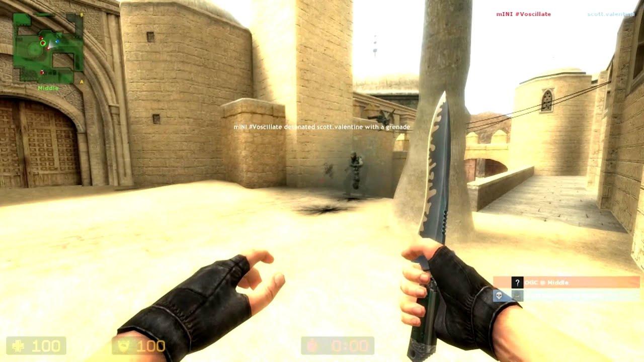 Как сделать нож в левой руке css v34