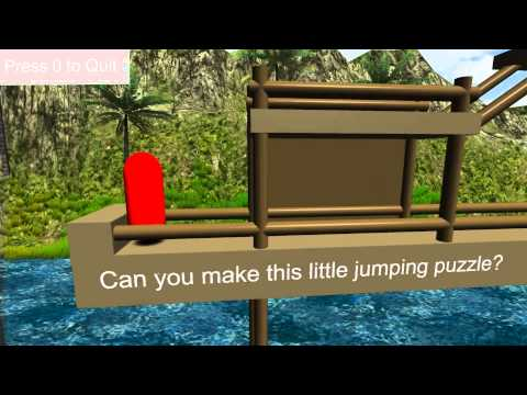 Unity 3D Test: The Platformer (First Game)
