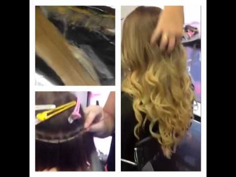 Beaded sew-in weft hair extension