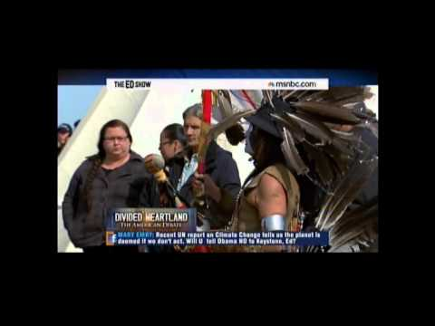 Rep. Grijalva on Native American Opposition to Keystone Pipeline MSNBC March 31