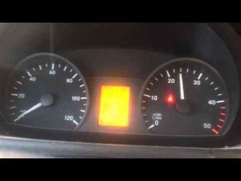 2007 Dodge Sprinter NO check engine light  3000 rpm max Limp mode
