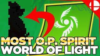 Smash Ultimate Best Spirit for World of Light