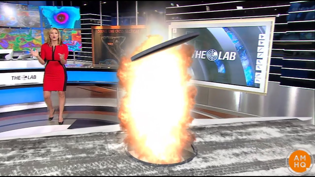 The Science Behind Exploding Manhole Covers in 3D!