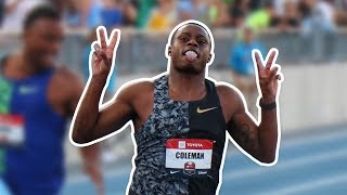 Christian Coleman Joins Legendary List Of U.S. 100m Champions
