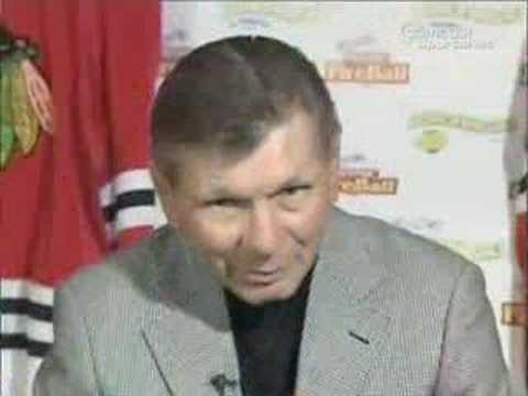 Chicago Blackhawks Stan Mikita Interview Video