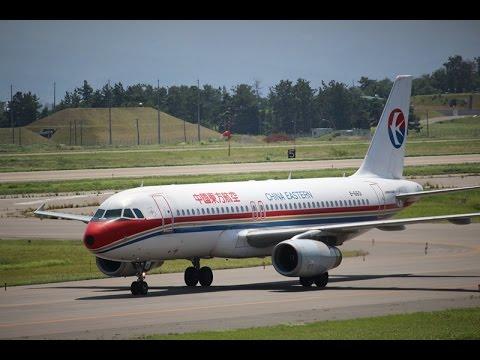 B-6601 China Eastern Airlines Airbus A320-232 KOMATSU Airport 中国東方航空 ランウェイ06 離陸