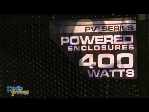 Peavey 115D, 118D, and 215D Powered Speakers - NAMM 2012 - AudioSavings