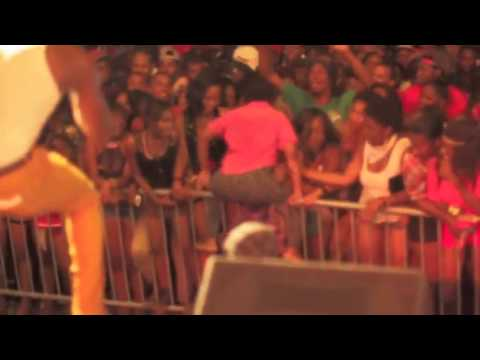 Aidonia Shelling St Lucia May 2013