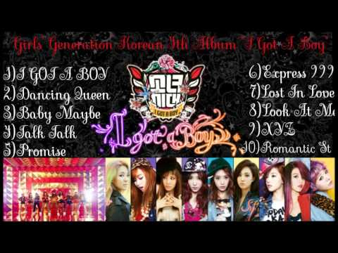 Girls' Generation(소녀시대)-i Got A Boy[full Album] video