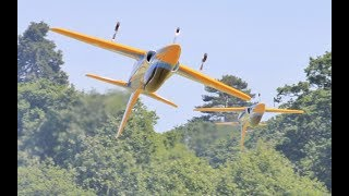 "2 X ELITE AEROSPORTS 3.45 MTR ""HAVOC"" DISPLAY - AZAEROPORTS AT WESTON PARK RC SHOW - 2017"