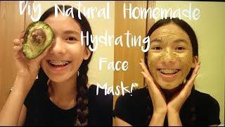 Diy Natural Homemade Hydrating Face Mask!