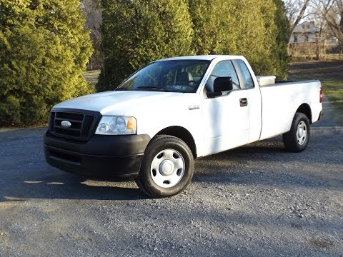 2007 Ford F-150 XL Triton 4.6L V8 Single Cab Start Up. Tour and Review