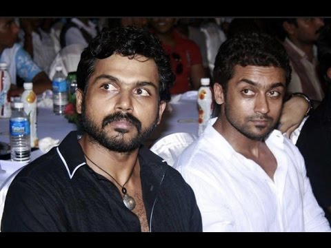 Karthi gets Suriyas script : Thanthi TV