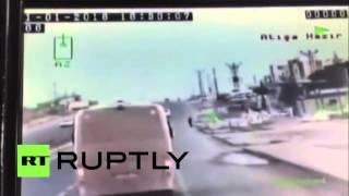 Dash Cam Footage: Moment of bomb blast at police station in Turkey