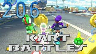 [206] Kart Battles (Mario Kart 8 Online w/ GaLm and Derps) [1080p 60FPS]