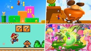 Evolution of Super Mario Bros. 3 References in Nintendo Games (1991 - 2019)