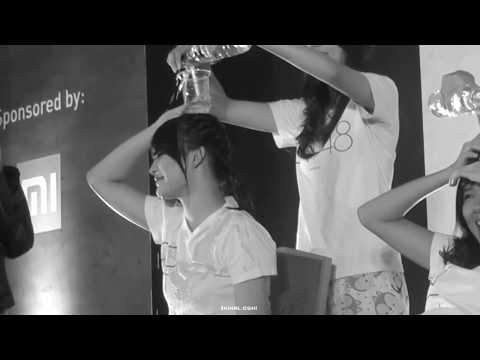 Stage Activity JKT48 HS Believe - Game Isi Air (Kinal Basah Kuyup)