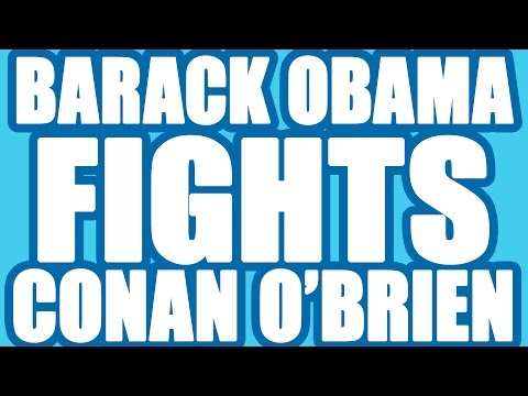Barack Obama vs Conan O'Brien In Super Smash Bros for 3DS/WiiU Celebrity Tournament 1 [Part 5/15]