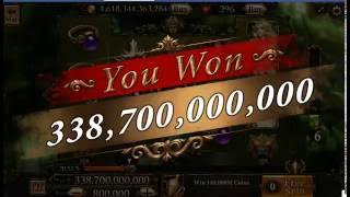 Mega wings. Scatter Slots.338 billion :)