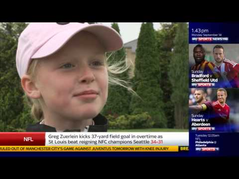 MAGGIE WHITEHEAD TEASE SKY SPORTS NEWS 14 Sept 2015