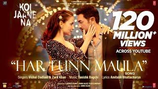 Har Funn Maula (Video Song) Koi Jaane Na   Aamir Khan   Elli A   Vishal D Zara K Tanishk B Amitabh B