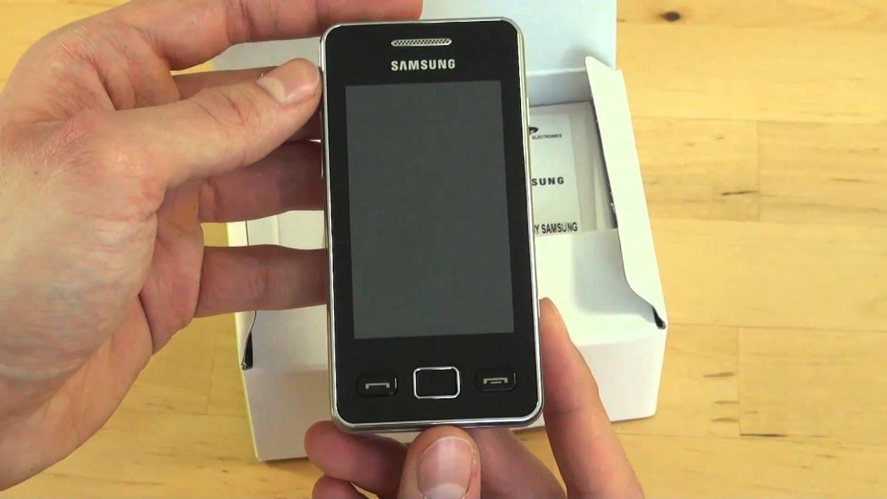Мобильный телефон samsung gt-s5230 star