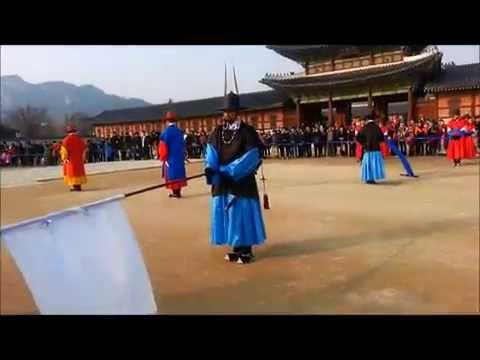 Seoul Korea - Royal Guard-Changing Ceremony