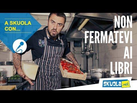 Chef Rubio a Skuola.net: 'Non fermatevi ai libri!'