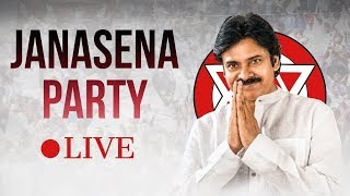 Pawan Kalyan LIVE | New Leader's Joining Janasena Party From Srikakulam