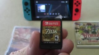 The Legend of Zelda: Breath Of The Wild - Unboxing and Size Comparison!