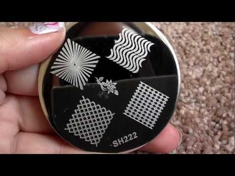 2013 Shany Nail Art Plates