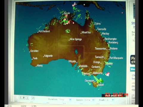HAARP beam Melbourne - Weatherzone email explanation! Weather related? 23 March 2011