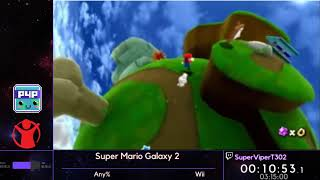 Super Mario Galaxy 2 (Any%) w/ SuperViperT302 - P4P Spring 2019