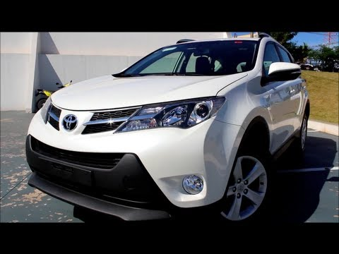 Test Drive Toyota RAV4 2.0 4x2 2013 (Canal Top Speed)