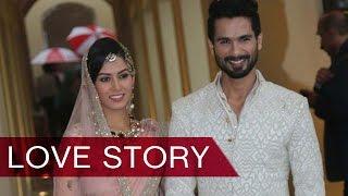 Shahid Kapoor & Wife Mira Rajput's Love Story UNFOLDS | Bollywood News