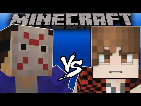 H2ODelirious VS Bajan Canadian - [Minecraft Animation]