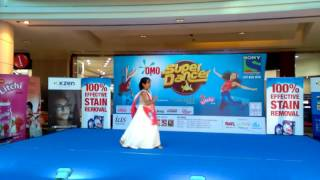 Diya KunwarSONY TV Super Dancer GCC Audition on 29Oct2016 at Oasis Mall DubaiUAE