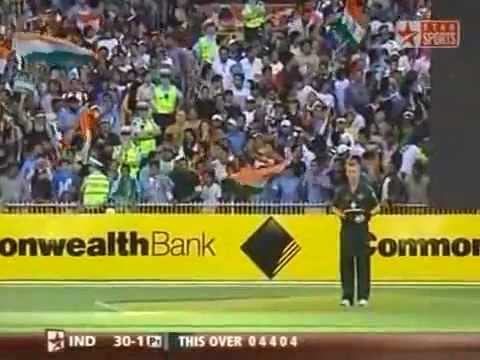 Best Straight Drive Ever: Sachin Ramesh Tendulkar and Brett Lee