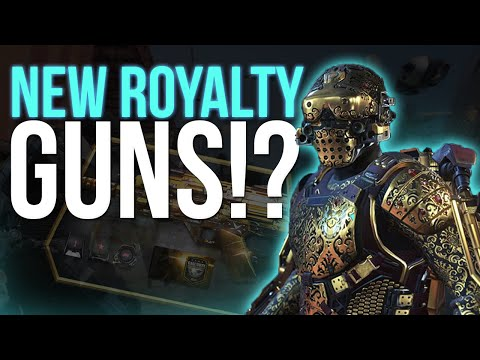 New Royalty Elite Weapons in Advanced Warfare (Stats Already Loaded In!)