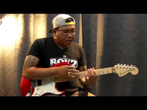 Tapping guitar lesson for ROKZ MAGAZINE เล่ม14 (Thai)