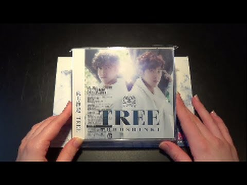 Unboxing Tvxq 東方神起 7th Studio Album Tree [limited Type A Cd+dvd Edition] video