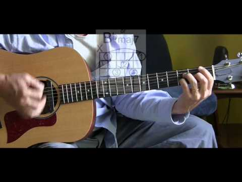 How to Play Unforgettable on Guitar  - Nat King...