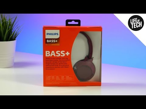 Philips BASS+ SHB3075 Wireless Headphones Review & Unboxing | On-Ear Headphones | 4K