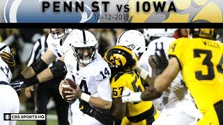Penn ST vs Iowa Breakdown: No. 10 Penn State holds off No. 17 Iowa 17-12 | CBS Sports HQ