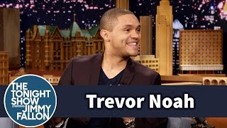 Trevor Noah's Drunk Friends Got Him into Stand-Up