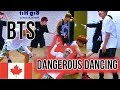CANADIAN REACTING FIRST TIME TO BTS 방탄소년단 Danger Dance Practice KPOP First Reaction mp3