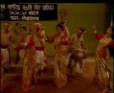 Assamese Bihu Dance - Jun Bai