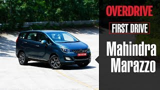 2018 Mahindra Marazzo First Drive review | Details, specifications and price | OVERDRIVE