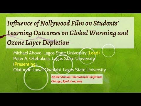 Peter A. Okebukola  NARST 2015 Chicago International Conference (Nollywood-Global Warming Study)